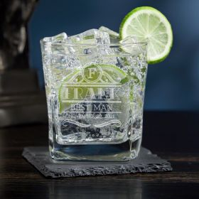 Rockefeller Custom Vodka Glass