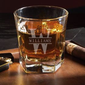 Oakmont Personalized Whiskey Glass