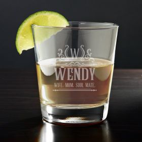 Canterbury Engraved Tequila Glass