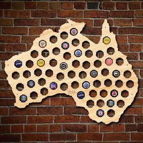 Australia Beer Cap Map