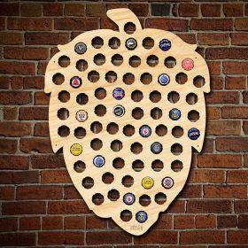 Beer Hop Beer Cap Map