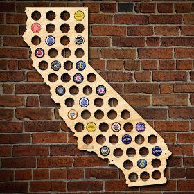 California Beer Cap Map
