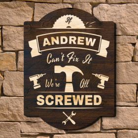 Tried and True Craftsman Custom Wood Sign (Signature Series)