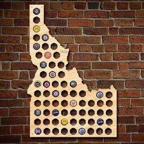 Idaho Beer Cap Map