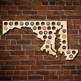 Maryland Beer Cap Map