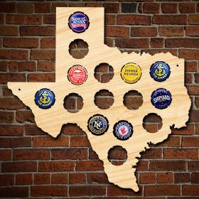 Small Texas Bottle Cap Holder