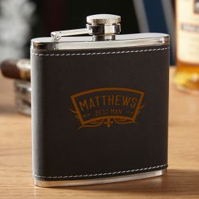 Hawthorne Wedding Party Liquor Flask