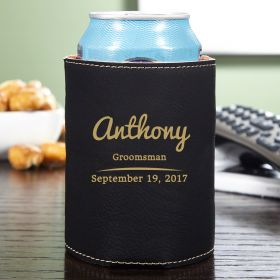 The Big Day Custom Can Cooler