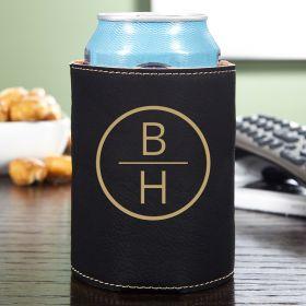 Emerson Monogrammed Cozy Beer Holder