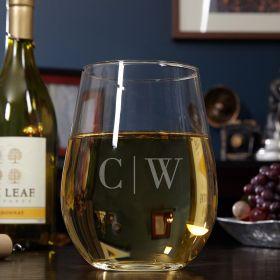 Custom Quinton Stemless Wine Glass