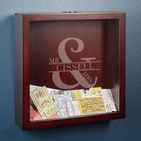 Love & Marriage Personalized Shadow Box for Couples