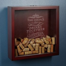 Drink Together Stay Together Custom Made Shadow Box