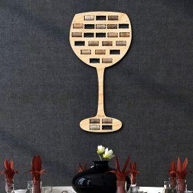 Wine Glass Wine Cork Holder