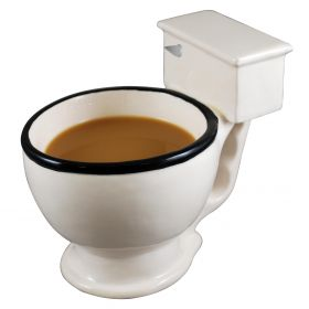 No Flush Toilet Mug