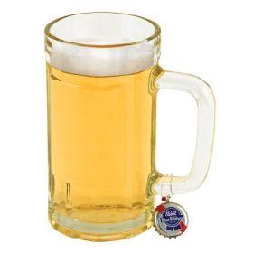 Recycled Beer Cap Mug Charms  6pc.