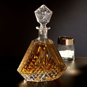 Dublin Triangular Crystal Decanter