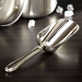 Classic Polished Nickel Ice Scoop