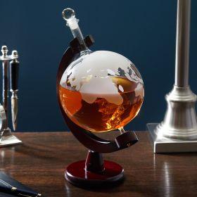 Globe Whiskey Decanter
