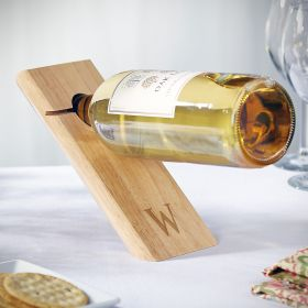 Balancing Act Personalized Wine Bottle Holder