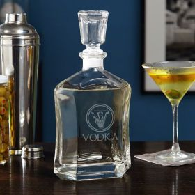 Top Shelf Custom Liquor Decanter - Choose Your Design