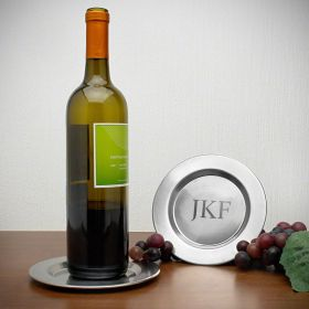 Perugia Personalized Wine Bottle Coaster