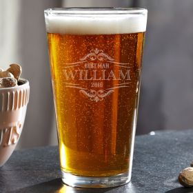 Wilshire Custom Pint Glass