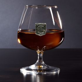Regal Crested Cognac Brandy Glass