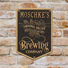 Original Recipe Brewing Company Beer Plaque - 7 Color Options