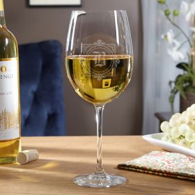 Winchester Personalized Large White Wine Glass