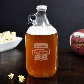 Craft Beer Personalized Growler