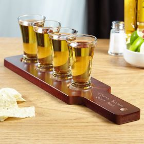 Monterrey Personalized Tequila Shot Flight Set
