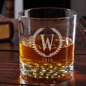 Buckman Statesman Personalized Whiskey Glass