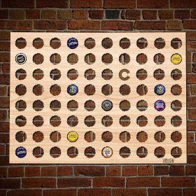 Colorado Beer Cap Map