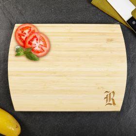 Wayland Personalized Bamboo Cutting Board 8x11