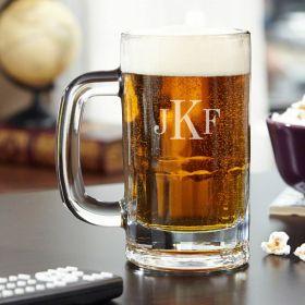 Benton Classic Monogram Beer Mug