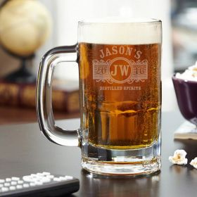 Marquee Personalized Benton Beer Mug