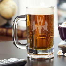 Moose Lodge Personalized Benton Beer Mug