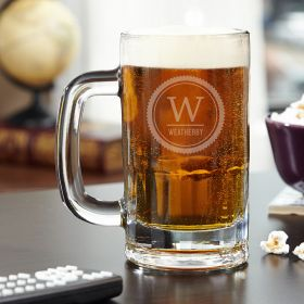 Thurston Personalized Beer Mug