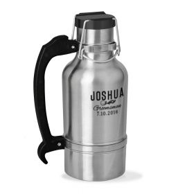 Classic Groomsman Personalized Drink Tank Growler