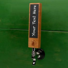 Classic Beer Mug Chalkboard Tap Handle