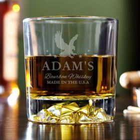 Patriot Personalized Bourbon Glass