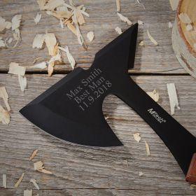 Personalized 9 Inch Hatchet for Best Man Gifts