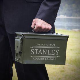 Stanford Ammunition Box Custom Groomsmen Gift