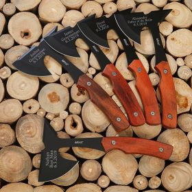 Personalized Hatchets Cool Gifts for 5 Groomsmen