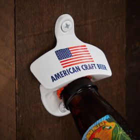 American Craft Beer Wall Mounted Beer Bottle Opener