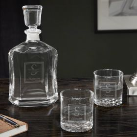 Oakhill Personalized Vodka Decanter Set