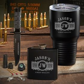 Spec Ops Marquee Engraved Tumbler Gift for Men