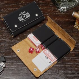 Marquee Slim Personalized Poker Set