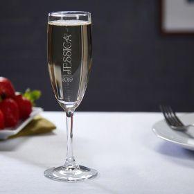 Jubilation Custom Champagne Glass