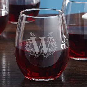 Highbury Stemless Personalized Wine Glass